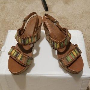 Franco Sarto  Fawn Cork sandals